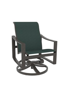 sling patio swivel rocker