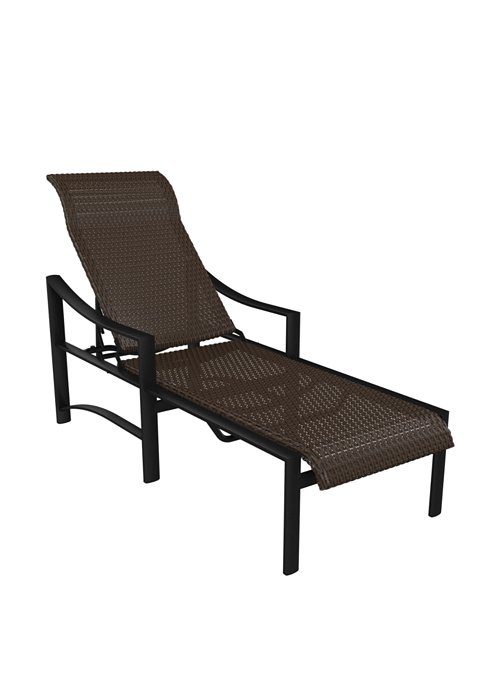 woven patio chaise lounge