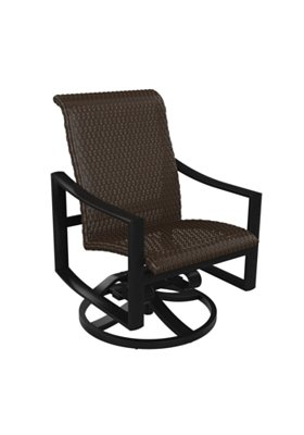 woven outdoor swivel rocker
