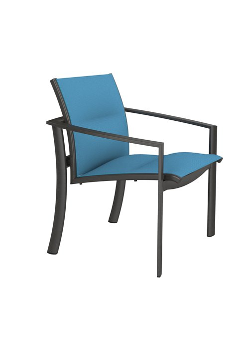 padded sling dining chair  for outdoor