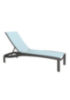 relaxed sling armless patio chaise lounge  sc 1 st  Tropitone : armless chaise lounge - Sectionals, Sofas & Couches