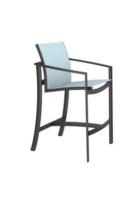 sling patio bar stool