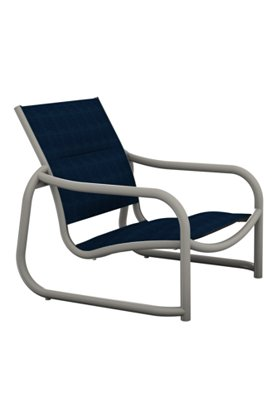 padded sling outdoor sand chair