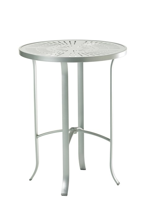 modern patio round bar table