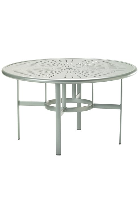 round outdoor umbrella dining table