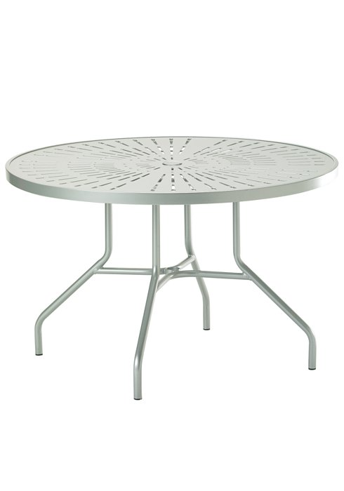 dining umbrella patio table round