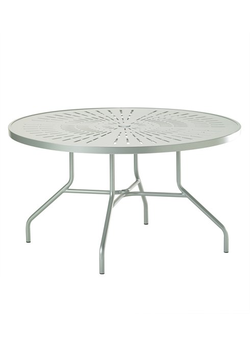 outdoor dining round umbrella table