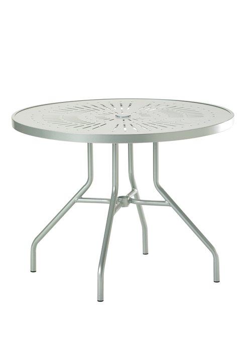 """La'Stratta 36"""" Round Dining Umbrella Table"""