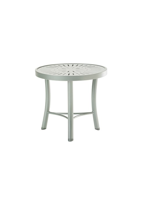 modern patio tea table round
