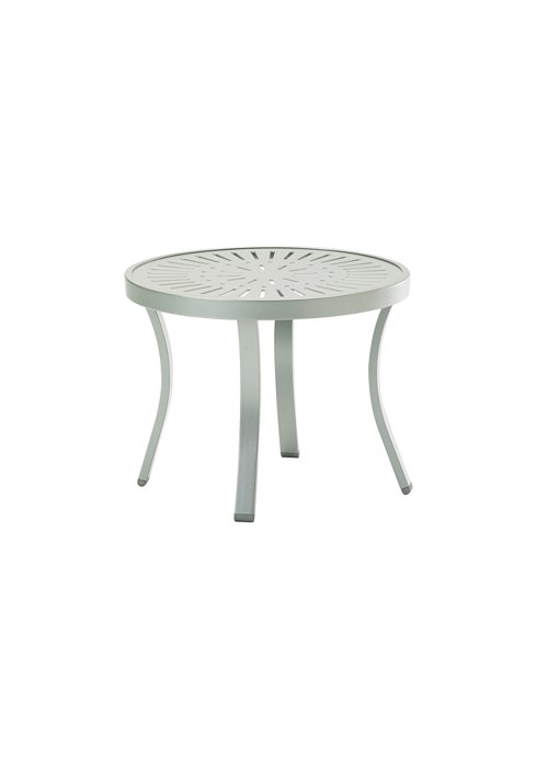 aluminum outdoor tea table round