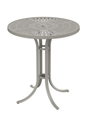 patio umbrella round bar table