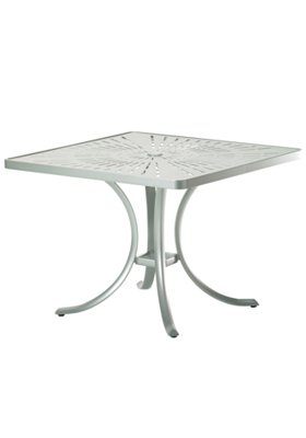 outdoor dining square umbrella table