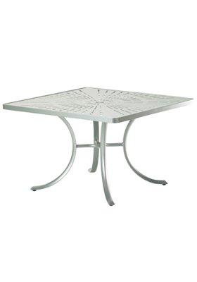 patio dining square umbrella table