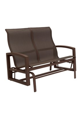 sling patio double glider