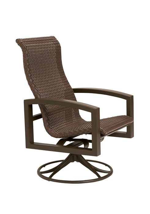 woven patio swivel rocker