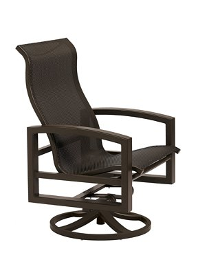 sling swivel patio action lounger