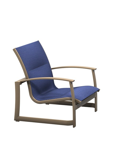 patio padded sling sand chair