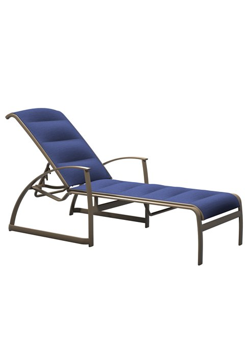 chaise lounge padded sling for patio