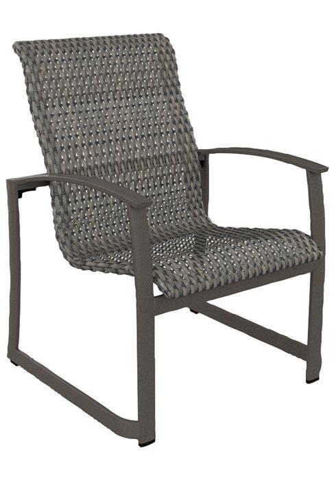 Tropitone Patio Chairs: MainSail Woven Dining Chair