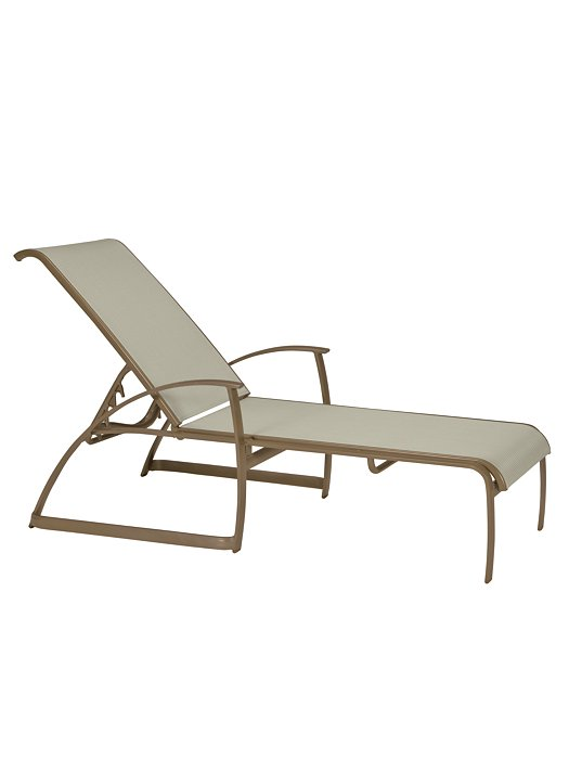 sling outdoor chaise lounge