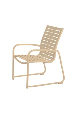 ribbon segment outdoor dining chair