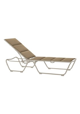 padded sling chaise lounge patio