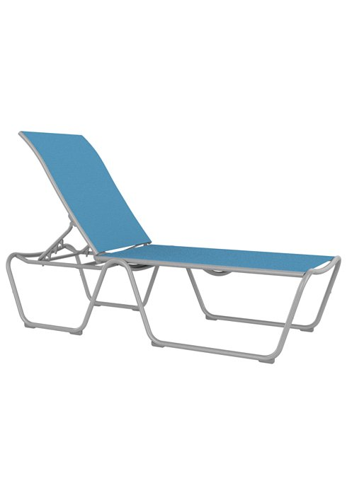 Millennia Relaxed Sling Armless Chaise Lounge Ada