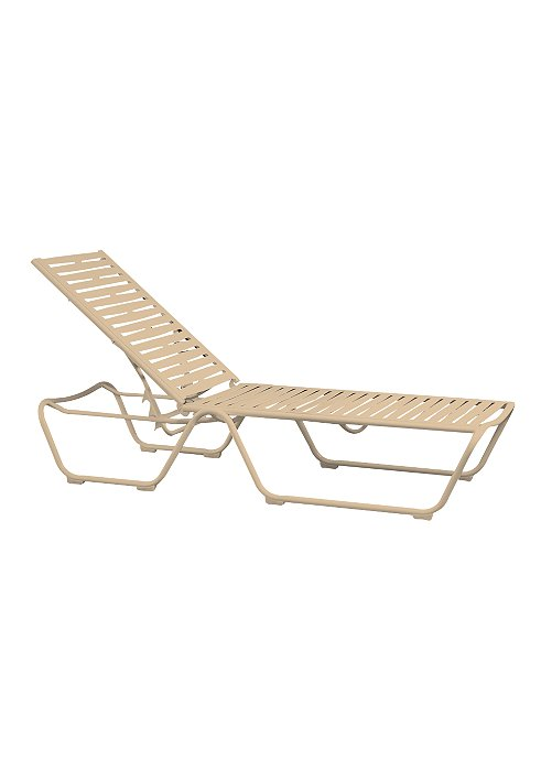 ribbon segment outdoor chaise lounge