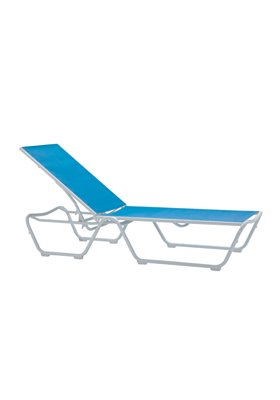 relaxed sling patio chaise lounge