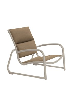 padded sling patio sand chair