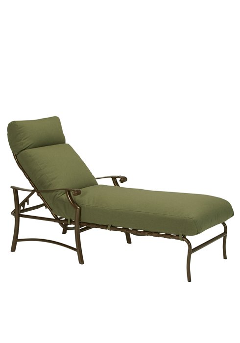 cushion chaise lounge patio