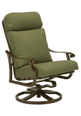 cushion patio swivel rocker