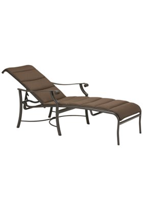 chaise lounge padded sling for outdoor