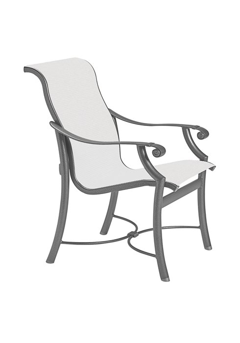 sling dining chair patio