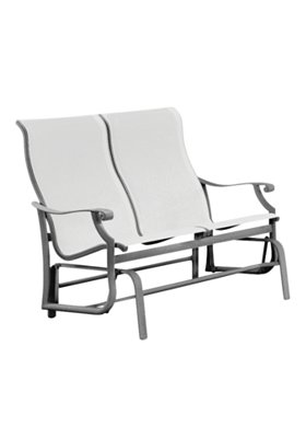 double sling outdoor glider