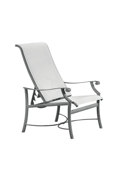 patio sling recliner