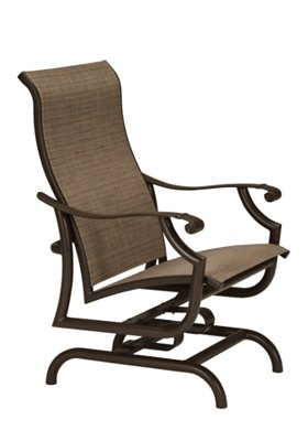 sling action lounger patio