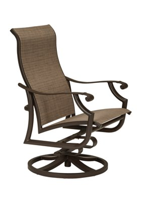 patio action lounger swivel