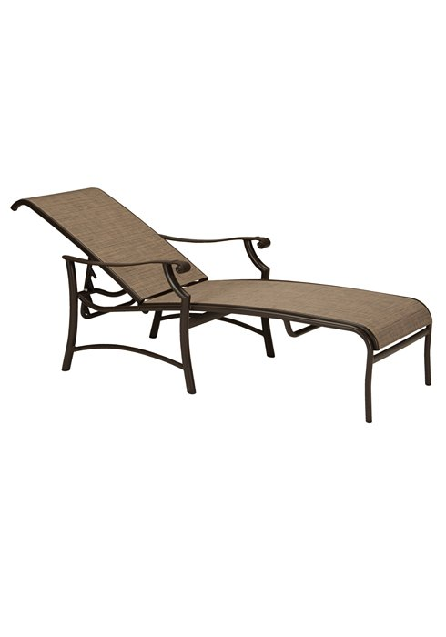 Chaise Lounge Patio Furniture Repair: Montreux II Sling Chaise Lounge