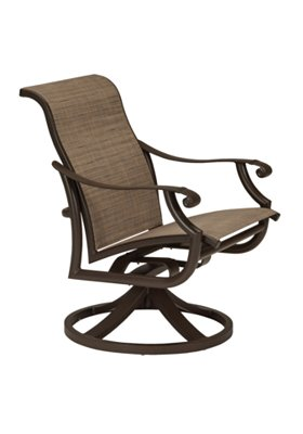 patio swivel rocker low back
