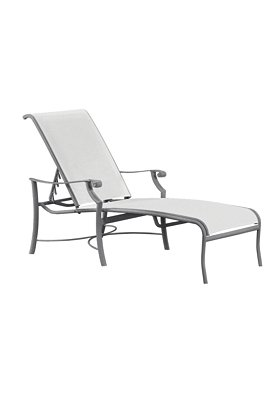 sling chaise lounge for outdoor