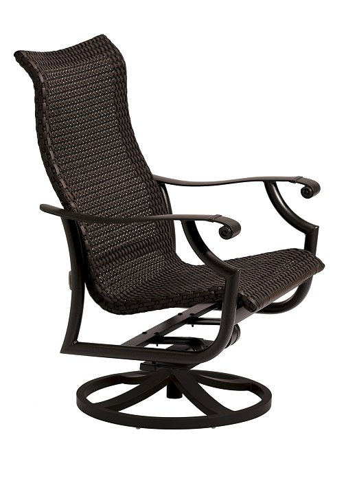 swivel patio action lounger