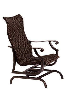 woven outdoor action lounger