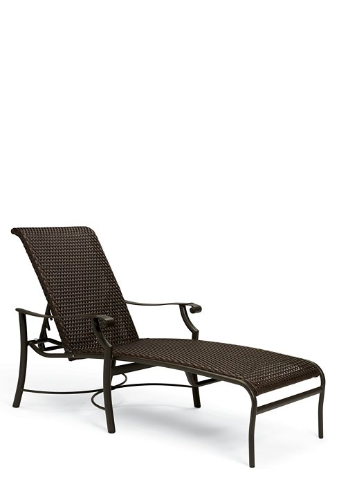 Patio Furniture Chaise Cushions: Montreux Woven Chaise Lounge