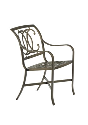 patio cast dining chair