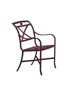 outdoor cast dining chair