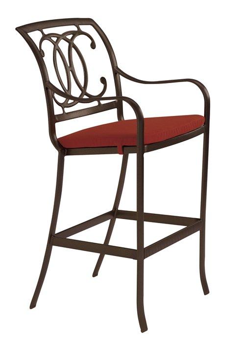 patio cast bar stool