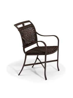 dining chair woven outdoor