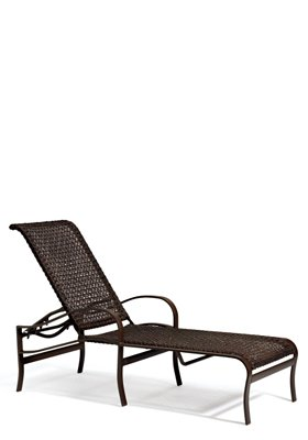 woven outdoor chaise lounge