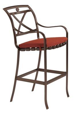 outdoor strap bar stool